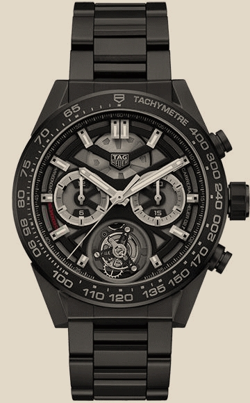 Tag Heuer                                     Carrera Calibre Heuer 02T 45 mm