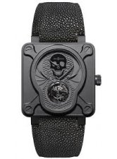 BELL & ROSS BR INSTRUMENT 01 TOURBILLON SKULL LIMITED EDITION 20