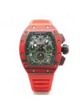 Richard Mille Flyback Red Quartz TPT NTPT Watch RM11-03