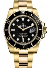 ROLEX SUBMARINER DATE 40MM YELLOW GOLD CERAMIC