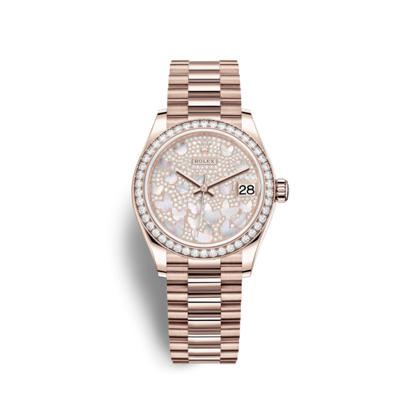 Rolex DateJust Rose Gold 31mm 278285RBR
