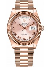 ROLEX DAY-DATE DAY-DATE II 41MM EVEROSE GOLD