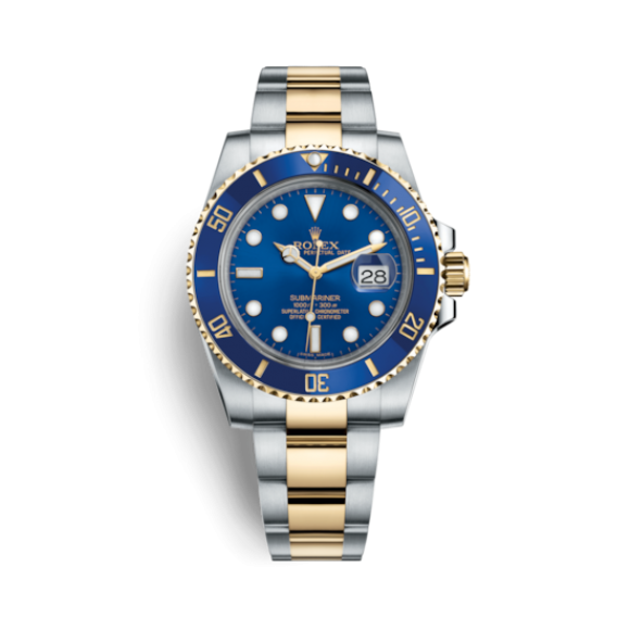 ROLEX SUBMARINER DATE 40 MM, OYSTERSTEEL AND YELLOW GOLD