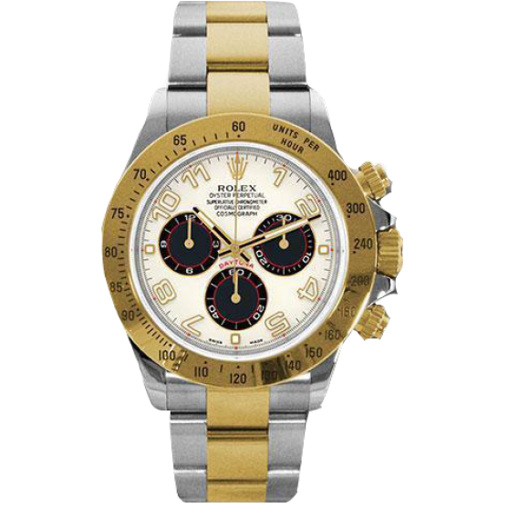 ROLEX DAYTONA COSMOGRAPH 40MM STEEL AND YELLOW GOLD