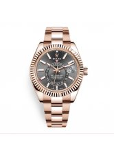 ROLEX SKY-DWELLER 42 MM, EVEROSE GOLD