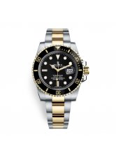 ROLEX SUBMARINER DATE 40MM STEEL AND YELLOW GOLD CERAMIC