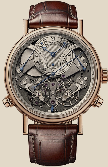 Breguet                                     Tradition. 7077 Independent Chronograph