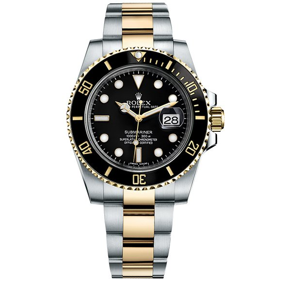 ROLEX SUBMARINER SUBMARINER DATE 40MM STEEL AND YELLOW GOLD CERAMIC