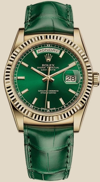 Rolex                                     Day-Date 36 mm, yellow gold