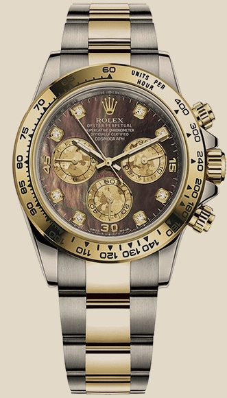 Rolex                                     Daytona COSMOGRAPH 40 MM, OYSTERSTEEL AND YELLOW GOLD