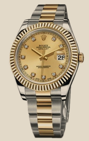 Rolex                                     Datejust II - Steel and Gold Yellow Gold