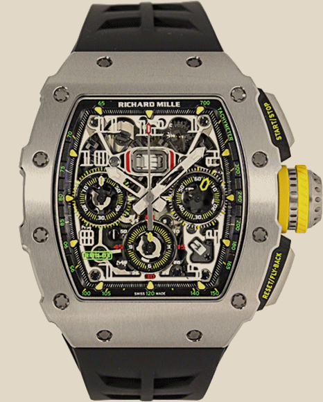 Richard Mille                                     Watches AUTOMATIC FLYBACK CHRONOGRAPH