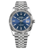 ROLEX DATEJUST 41 MM, STEEL AND WHITE GOLD